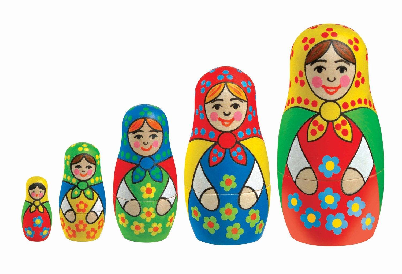 KSG Arts and Crafts Baboushka 0925 Russian Doll Painting Kit: Amazon.co.uk:  Toys u0026 Games - Russian Doll PNG HD