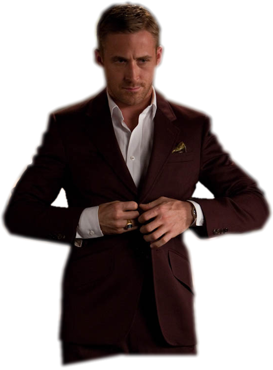 Ryan Gosling png by ThirtySam PlusPng.com  - Ryan Gosling PNG