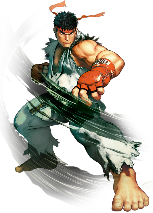 Ryuclean.png - Street Fighter PNG