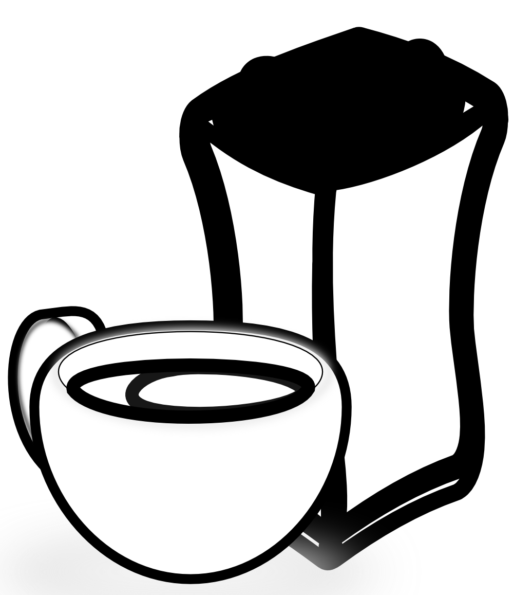 Sack Black And White PNG - 162192