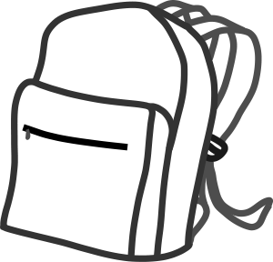 Sack Black And White PNG - 162181