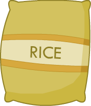File:Rice Bag.png - Sack Of Rice PNG