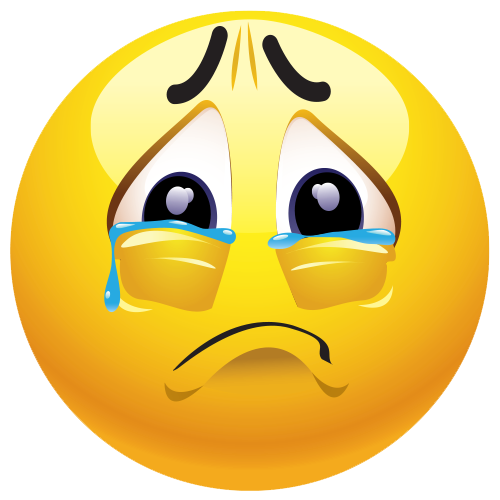 Sad Emoji PNG Clipart - Sad PNG HD