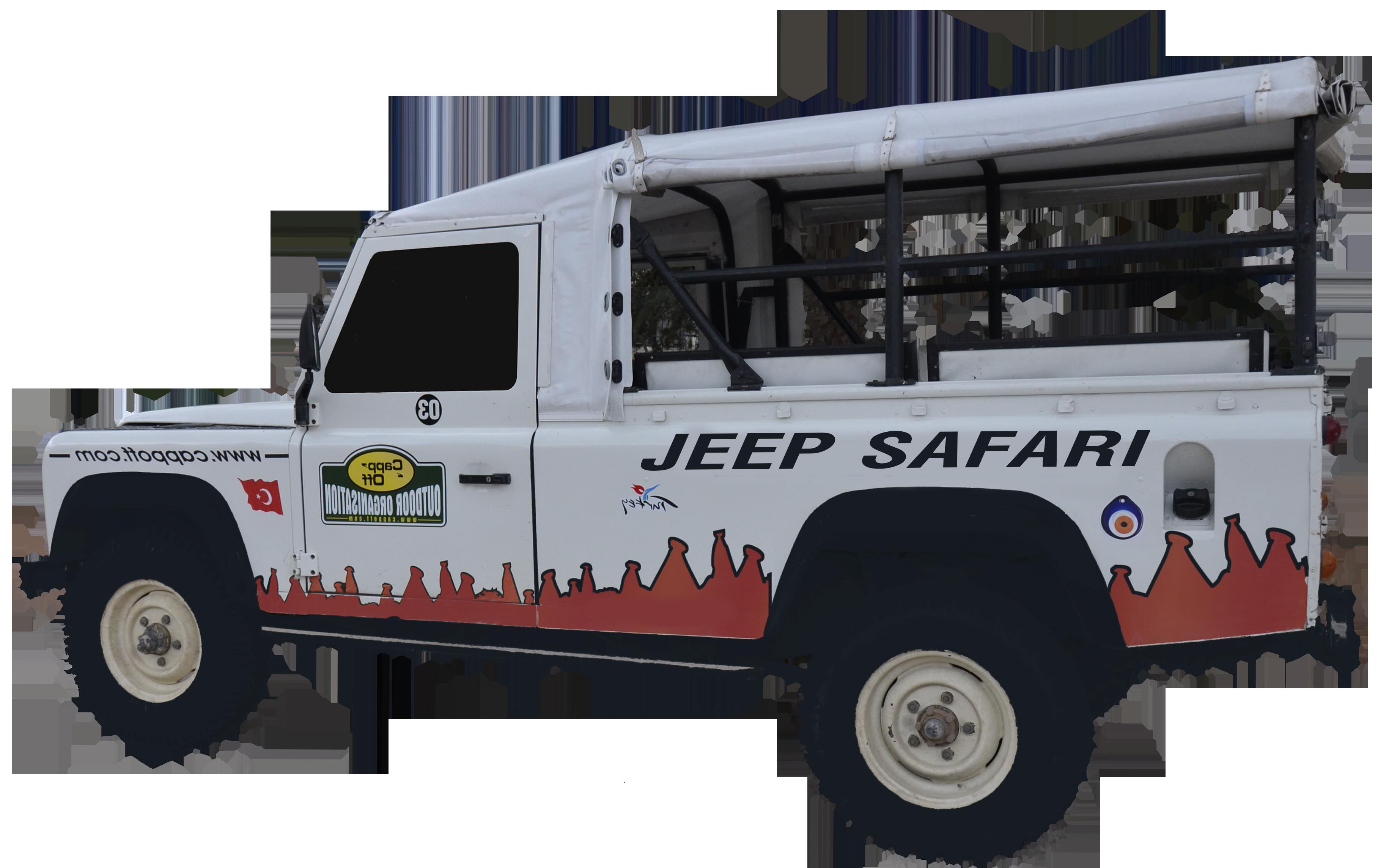 Safari Jeep PNG