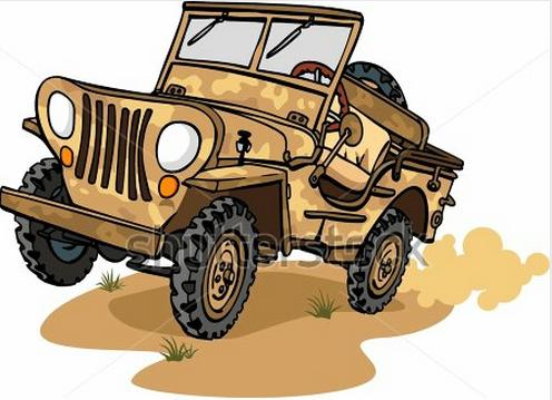 Safari Jeep PNG - 51991