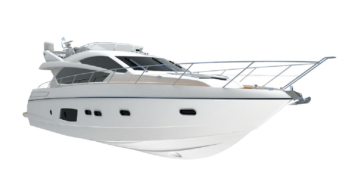Sunseeker Manhattan 63 Motor Yacht - Image courtesy of Sunseeker Yachts -  Luxury Yacht PNG - Sailboat PNG HD