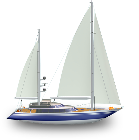yacht - Sailboat PNG HD