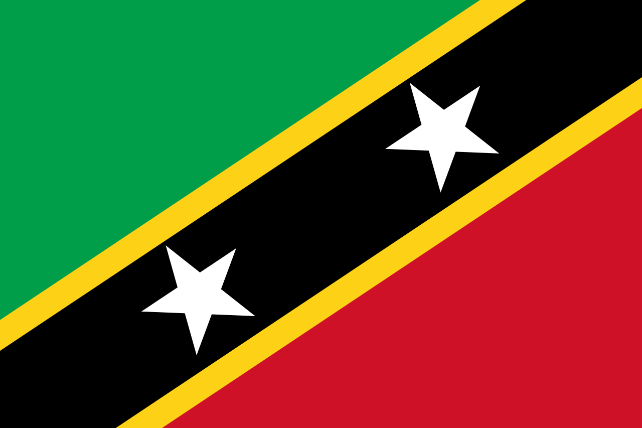 File:Flag of Saint Kitts and Nevis.svg - Saint Kitts And Nevis PNG