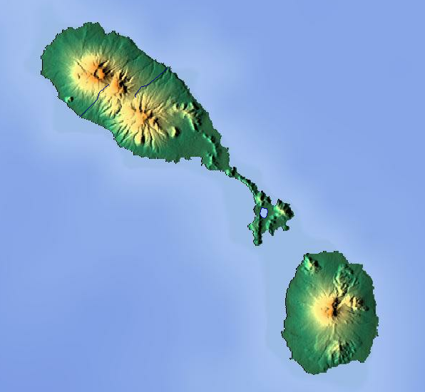 File:Saint Kitts and Nevis location map Topographic.png - Saint Kitts And Nevis PNG