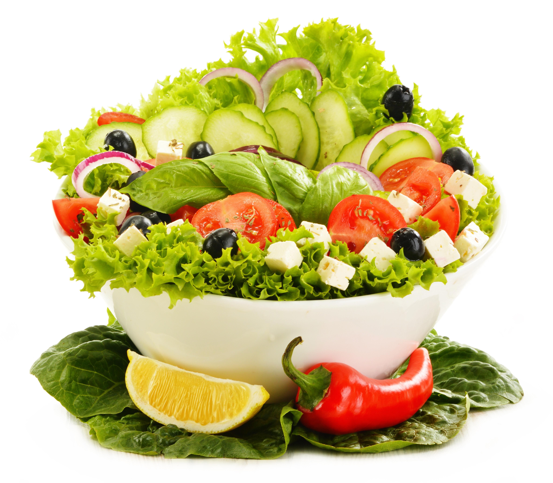 Food - Salad Cucumber Olive L