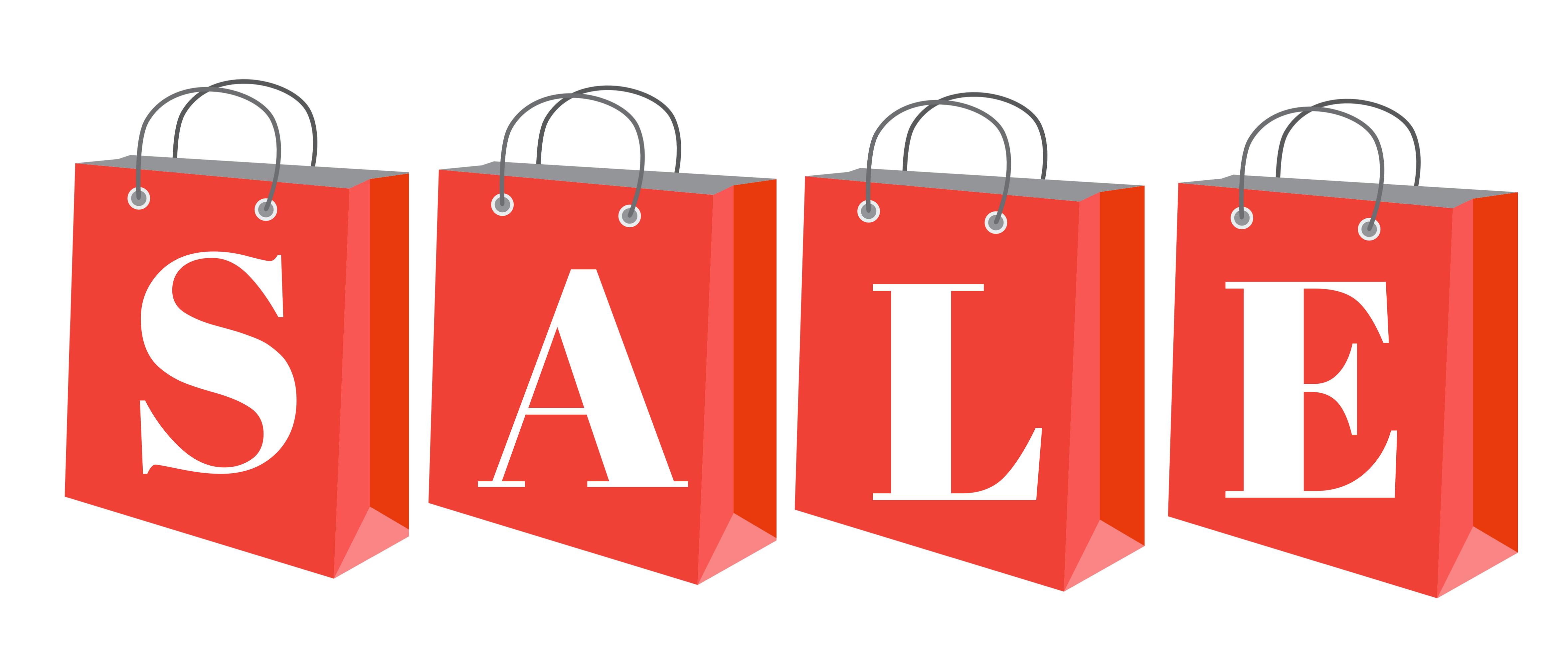 2x1m Outdoor PVC Sale Banner - Sale HD PNG
