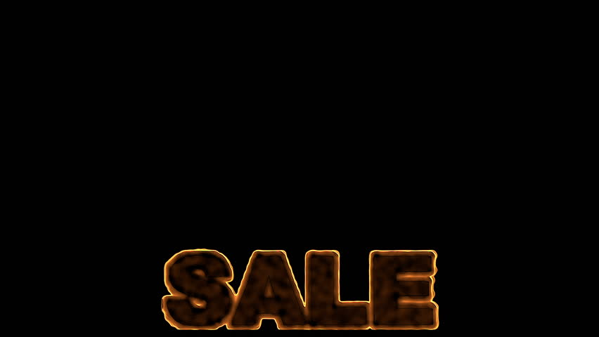 Fire Sale - HD Stock Video Clip - Sale HD PNG