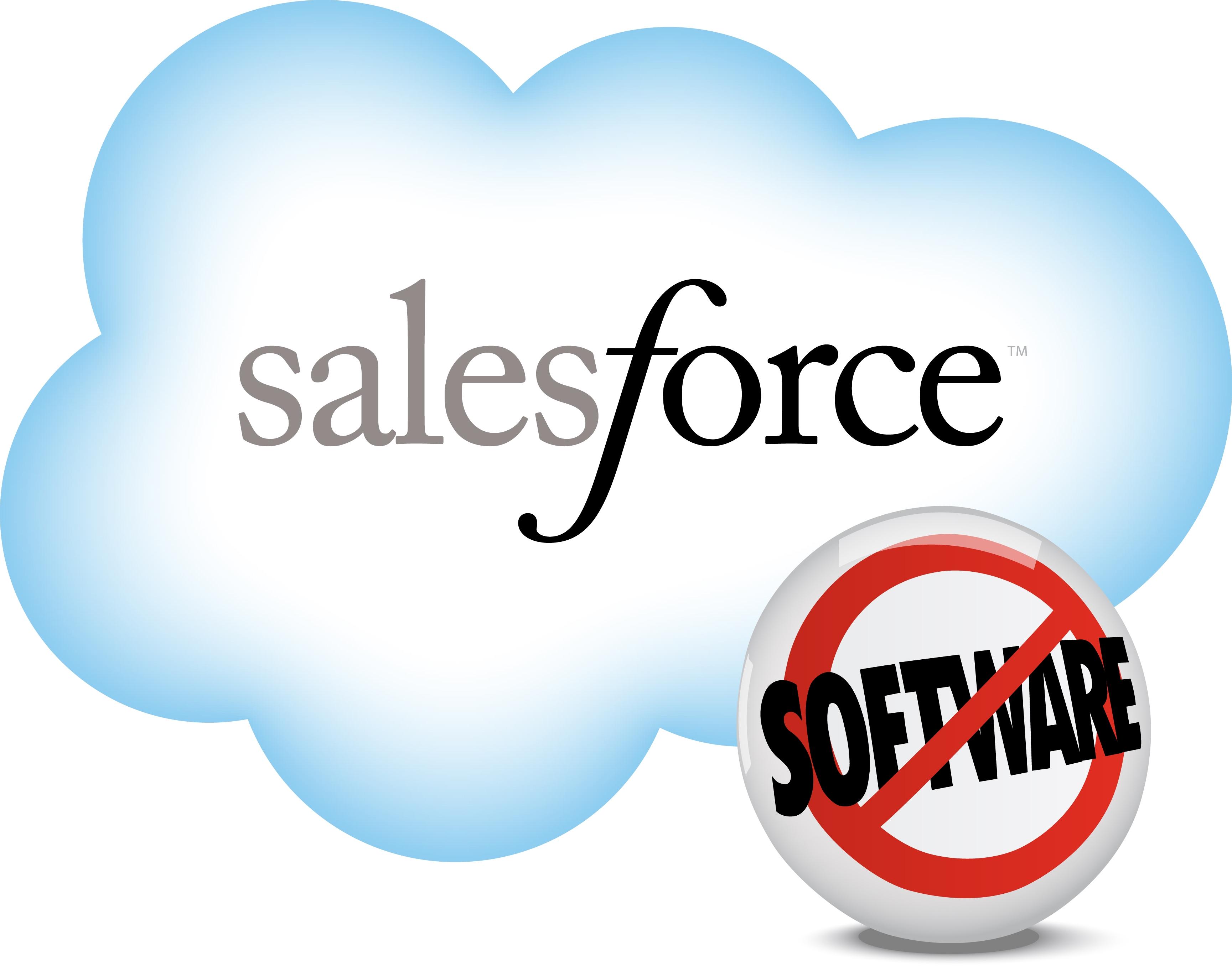 Salesforce Logo Vector PNG - 35998