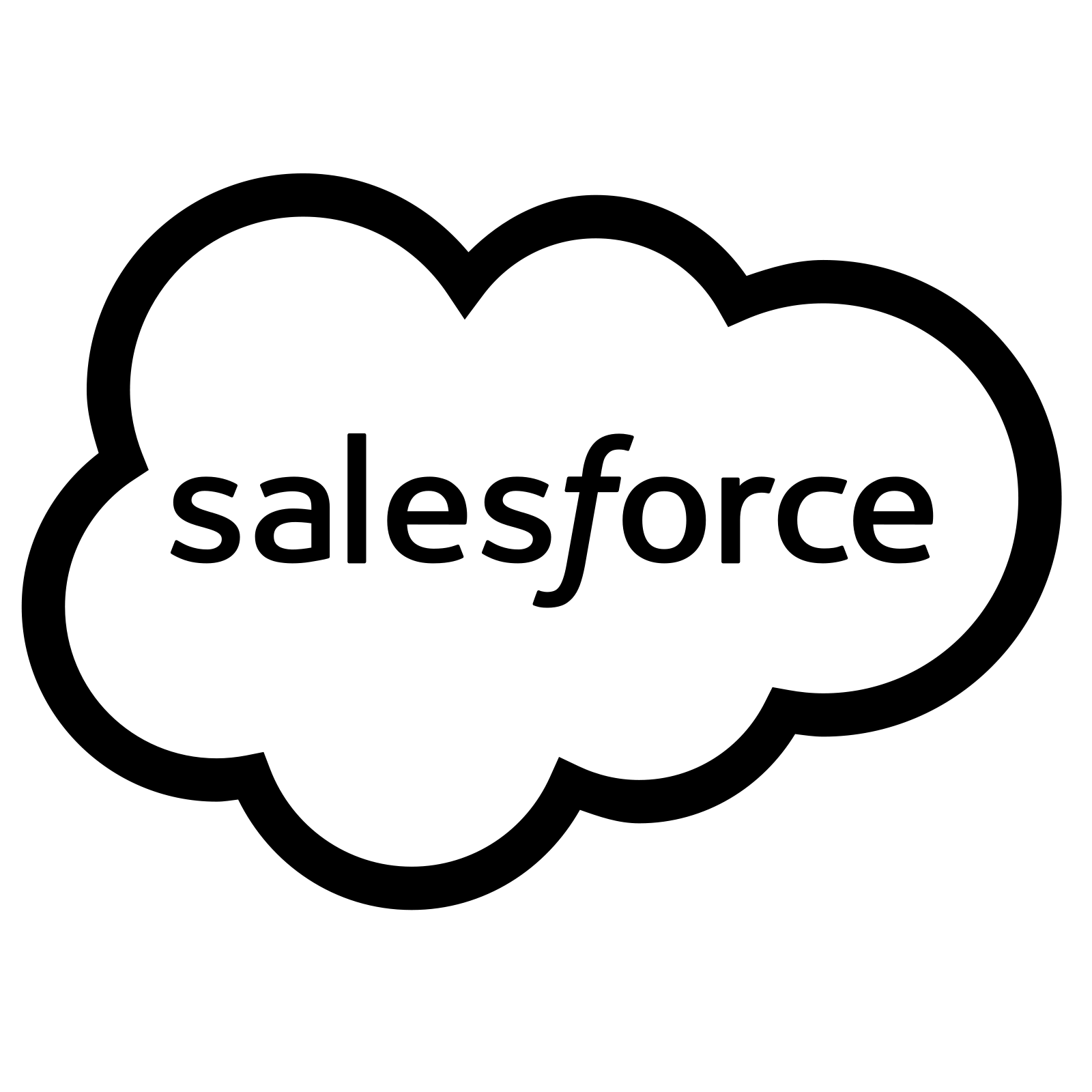 Salesforce Icon. PNG 50 px. PNG. SVG - Salesforce Logo Vector PNG