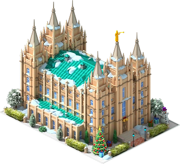 File:Salt Lake Temple.png - Salt HD PNG