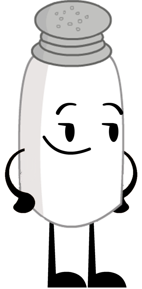 New Salt Pose.png - Salt PNG Black And White