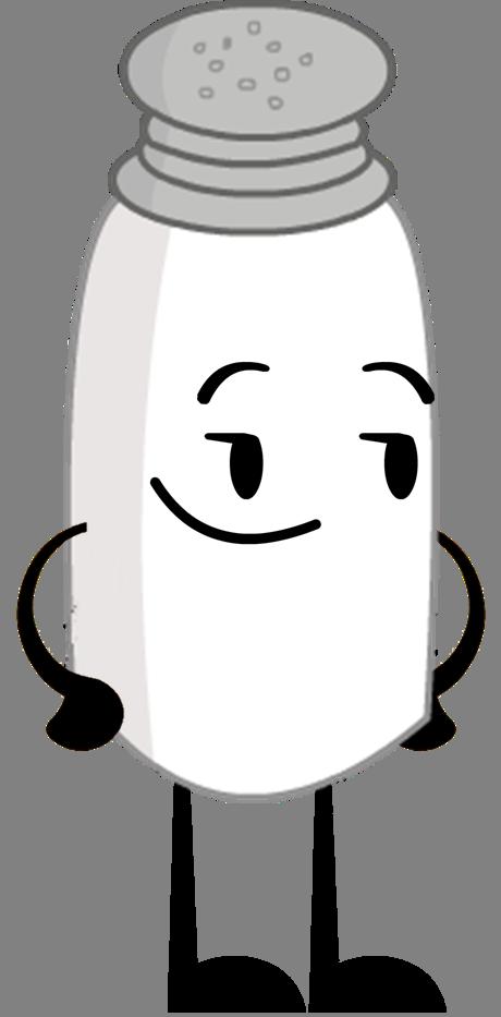 New Salt Pose.png - Salt PNG Black And White