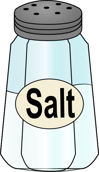 salt clipart black and white - Salt PNG Black And White
