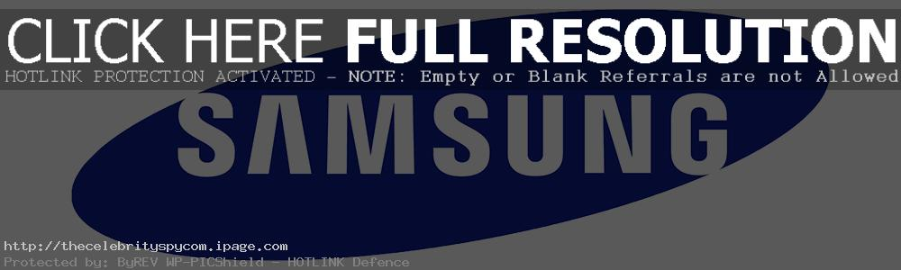 Samsung Logo PNG - 33076