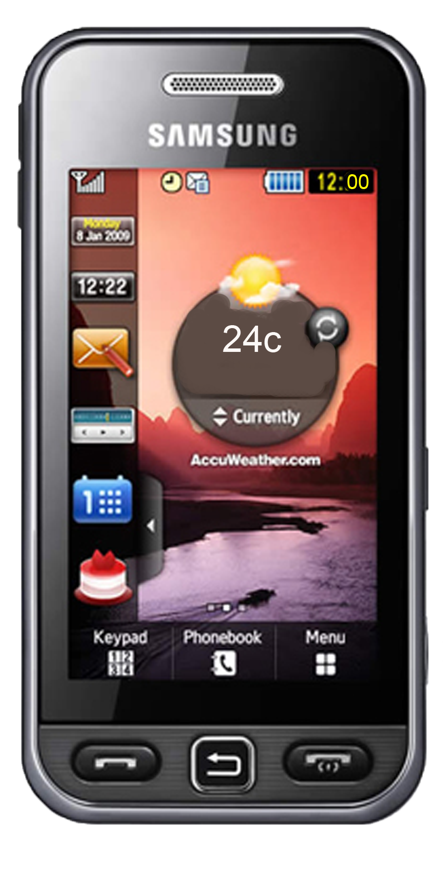 Samsung Mobile Phone PNG - 5464