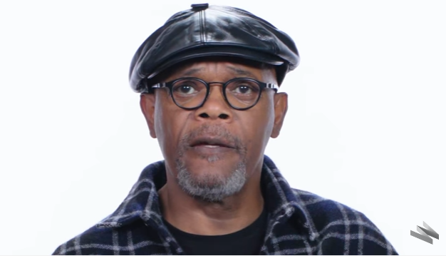 An error occurred. - Samuel L Jackson PNG