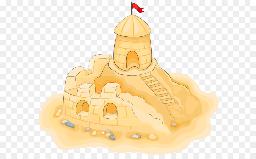 Sand art and play Clip art - Transparent Sand Castle PNG Clipart Picture - Sand Art PNG