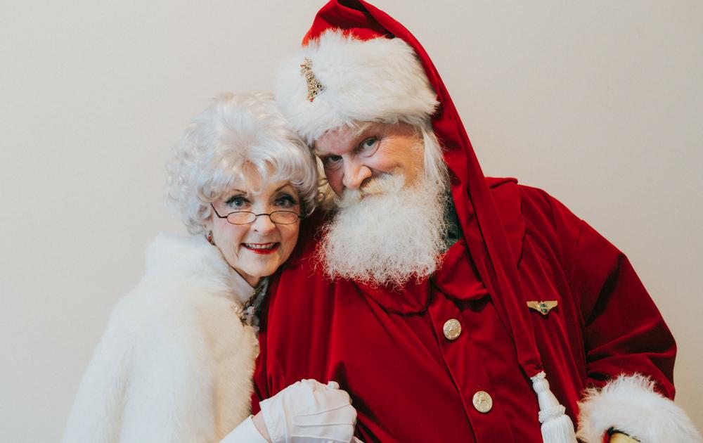 Santa And Mrs Claus PNG - 79831