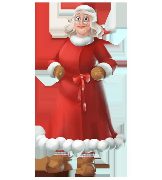 Santa And Mrs Claus PNG - 79829