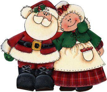 Santa And Mrs Claus PNG - 79826
