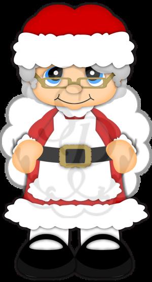 Santa And Mrs Claus PNG - 79825