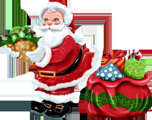 Santa And Mrs Claus PNG - 79832