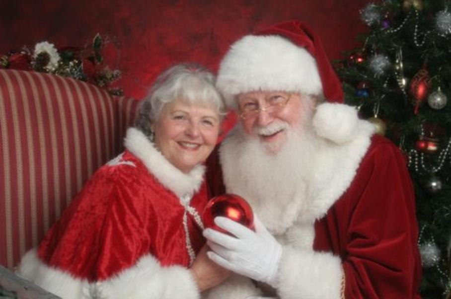 santa and mrs claus png transparent santa and mrs claus png images