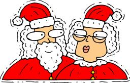 Santa And Mrs Claus PNG - 79822