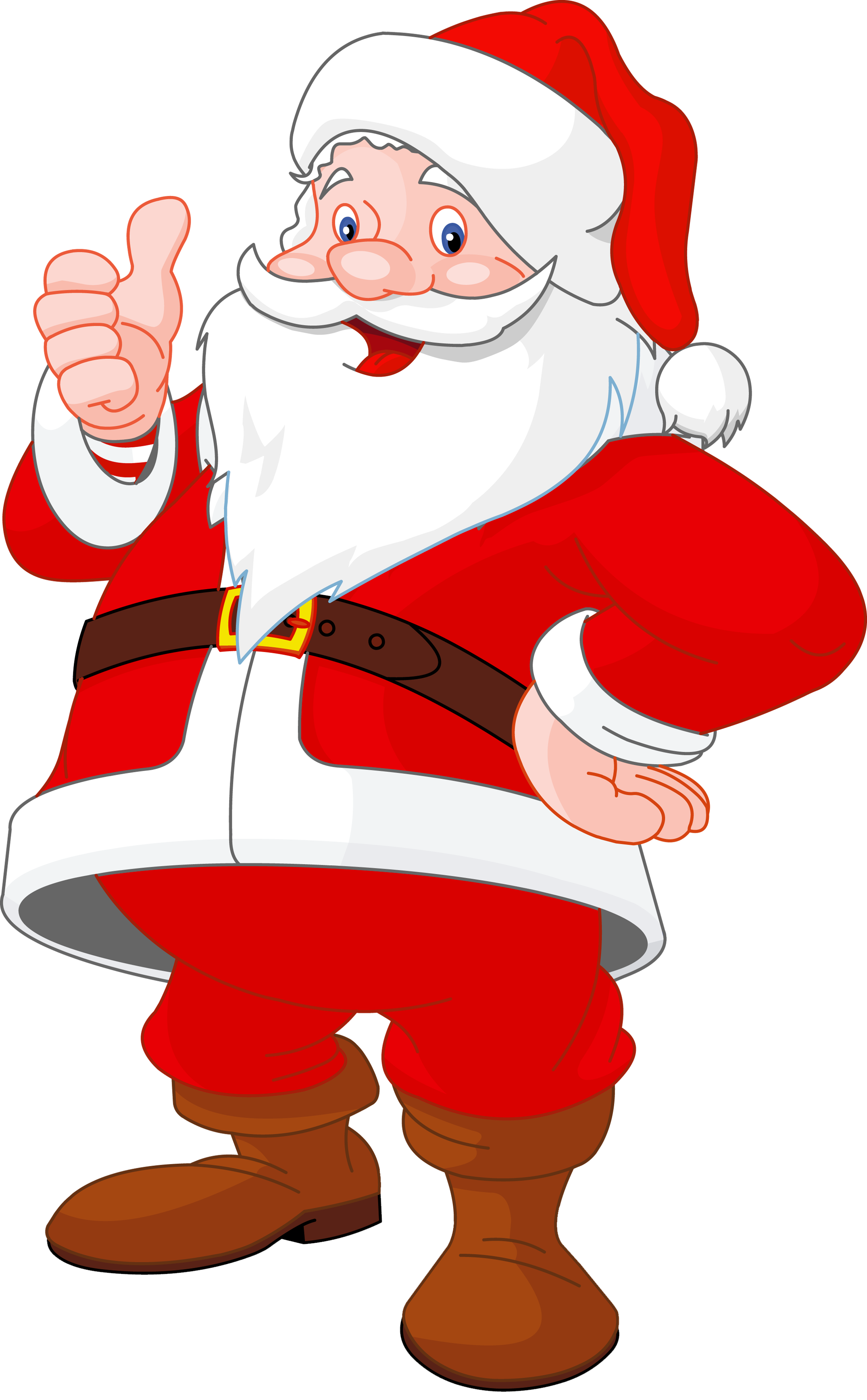 Transparent Santa Claus - Santa Chimney PNG HD