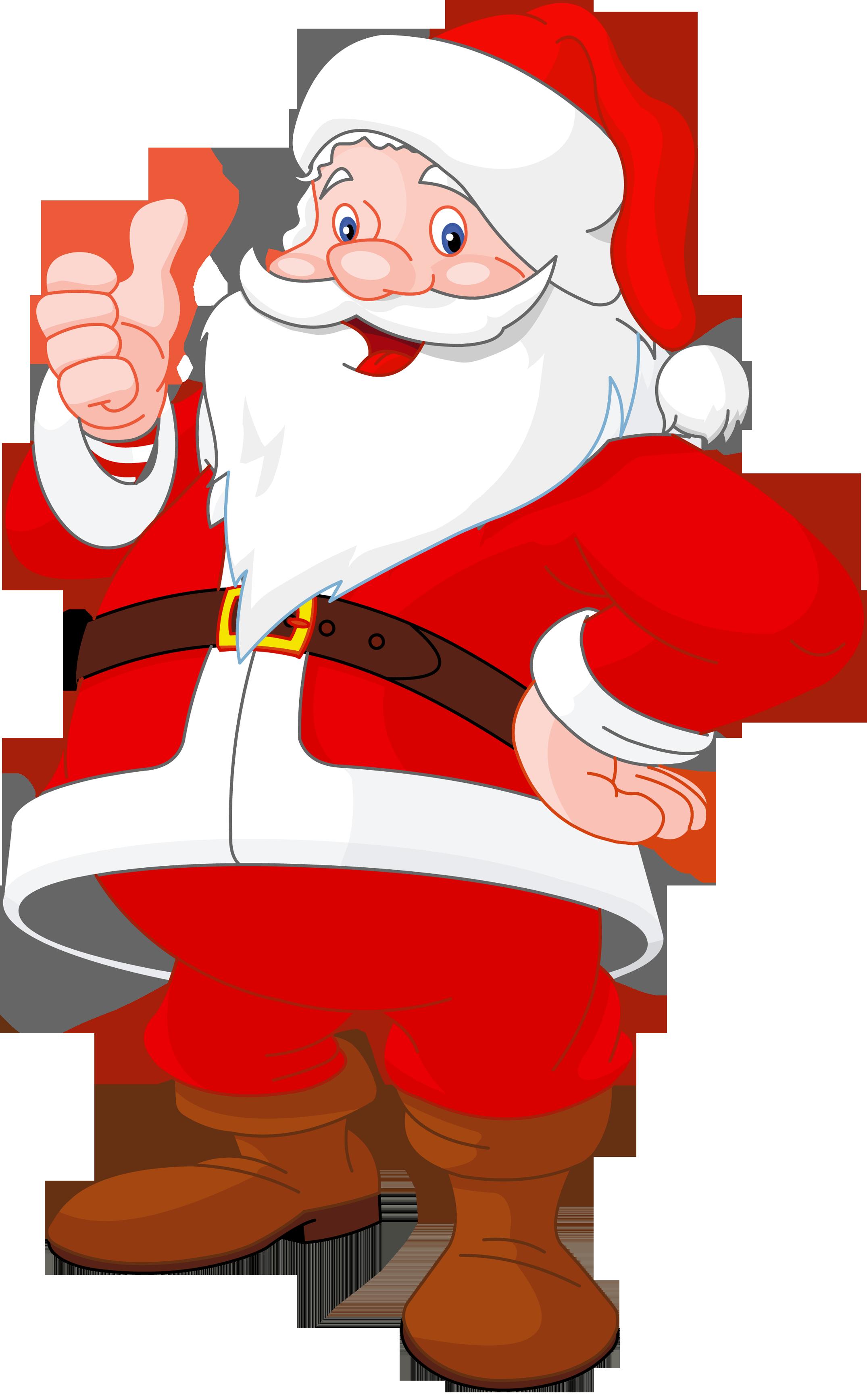 Transparent Santa Claus - Santa Chimney PNG HD