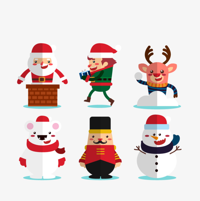 Vector chimney Santa Claus, HD, Vector, Christmas Elk Free PNG and Vector - Santa Chimney PNG HD