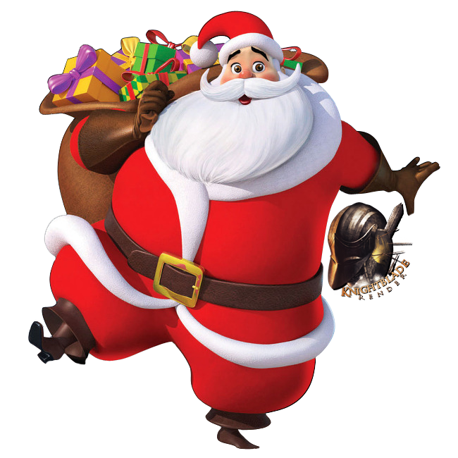 Clipart Library: More Like Santa Claus Render By Knightblade619 - Santa HD PNG