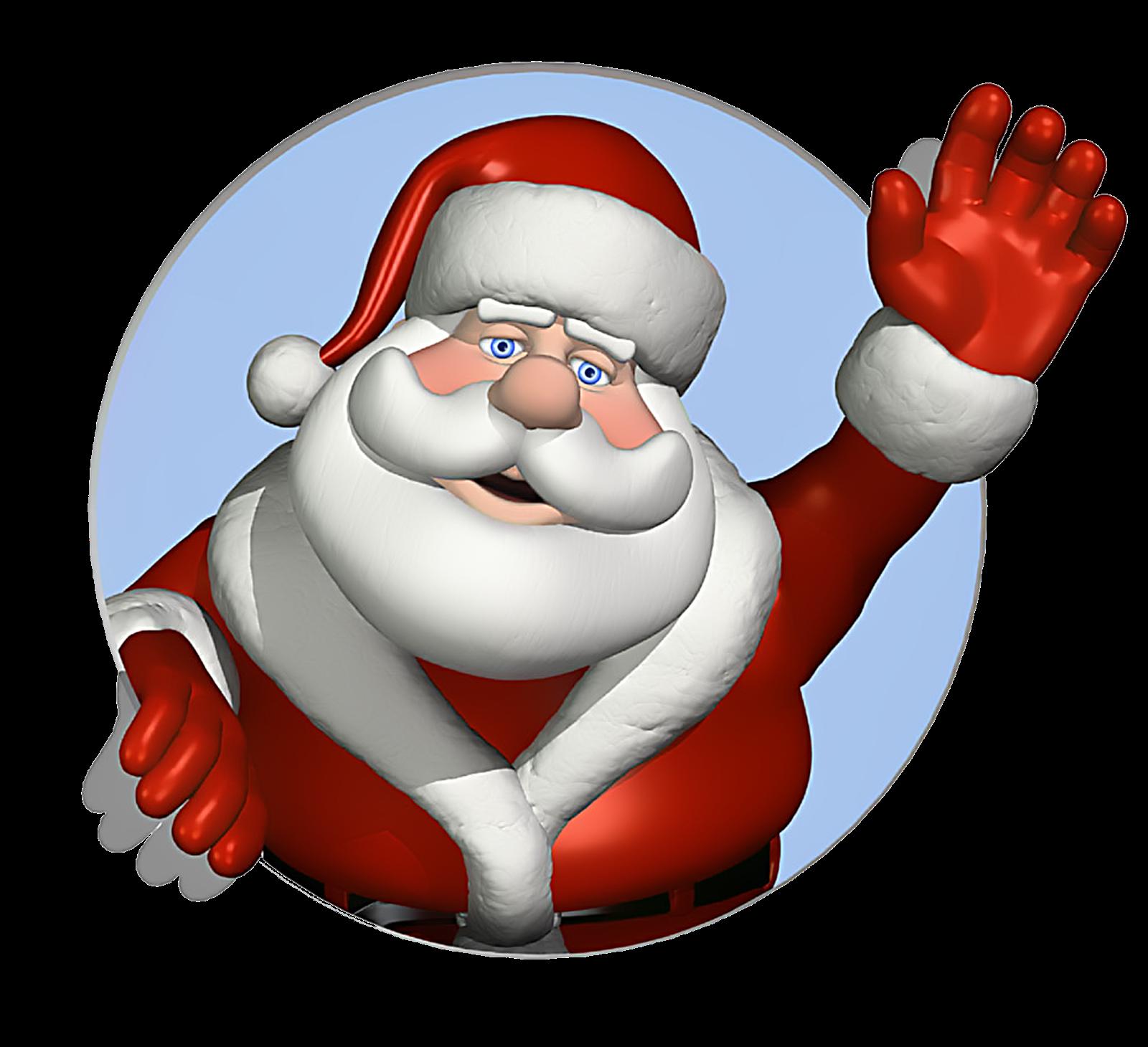 Santa Claus PNG Transparent Image - Santa HD PNG