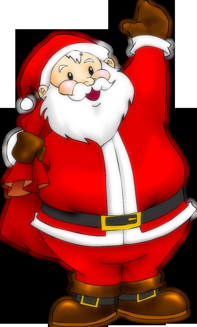 Santa Claus Transparent PNG - Santa HD PNG