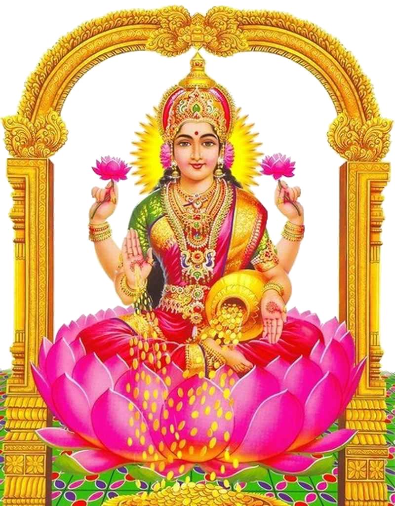 Lakshmi-PNG-Clipart - Saraswati Maa PNG