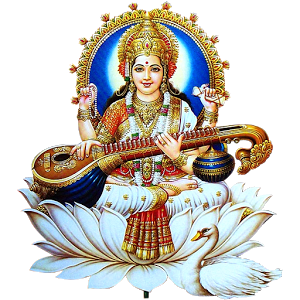 Saraswati-Free-Download-PNG - Saraswati Maa PNG