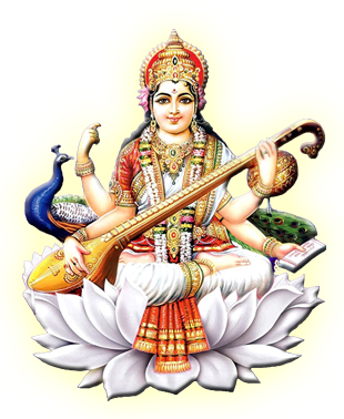 Saraswati-PNG-HD - Saraswati Maa PNG