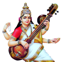 Similar Saraswati PNG Image - Saraswati Maa PNG