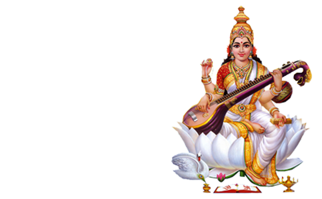 Saraswati Mata PNG-PlusPNG.com-647 - Saraswati Mata PNG