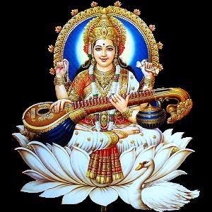 Saraswati-Free-Download-PNG - Saraswati Mata PNG