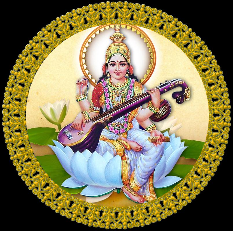 Saraswati Mata PNG - 86265