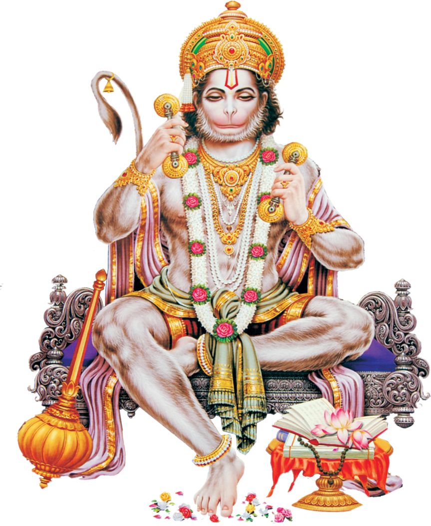 Hanuman PNG Transparent Images - Saraswati PNG