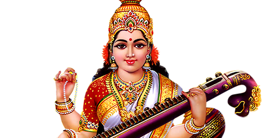 Saraswati PNG HD-PlusPNG.com-512 - Saraswati PNG HD