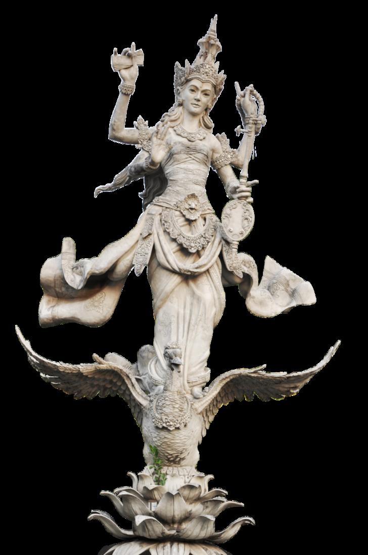 patung saraswati PNG by yerdiansha PlusPng.com  - Saraswati PNG HD