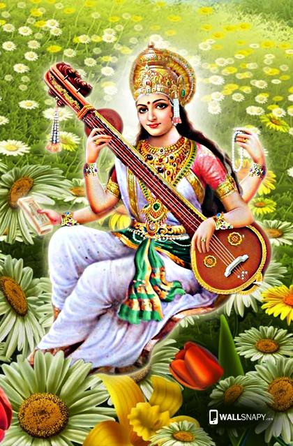 Saraswati images hd wallpaper mobile - Saraswati PNG HD